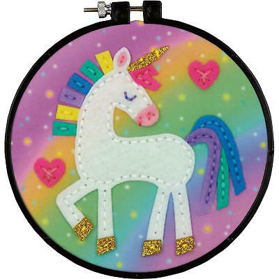 Dimensions 75341 Unicorn Felt Decor Applique Stitch Kit