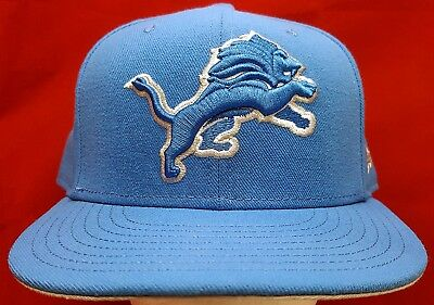 the latest 880bb 8f50f Detroit Lions NFL New Era 59Fifty fitted cap hat