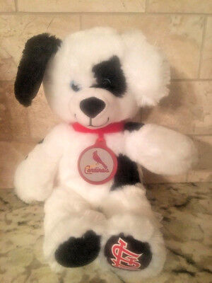 a9a0c782af3 St. Louis Cardinals 2017 Build a Bear Workshop SGA Puppy Dog Dalmatian BABW