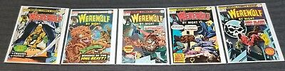 Werewolf By Night Marvel 26, 27, 28, 29 and 30 Lot of 5