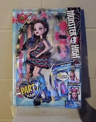 Monster High Draculaura Party Hair doll
