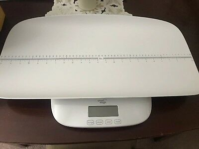 Smart Weigh Digital Baby,Toddler/Adult Scale with 4 Weighing Modes