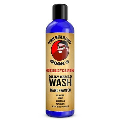 The Bearded Goon's Ridiculously Cleansing Daily Beard Wash Shampoo
