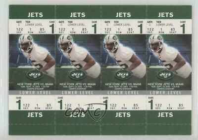 2003 Fleer Authentix Tickets Lower Level #111A BJ Askew New York Jets Rookie