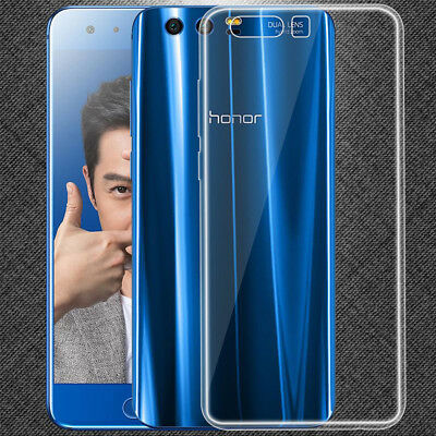 For Huawei Honor 9 Ultra Thin Clear Soft Silicone Gel TPU Case Cover Skin New