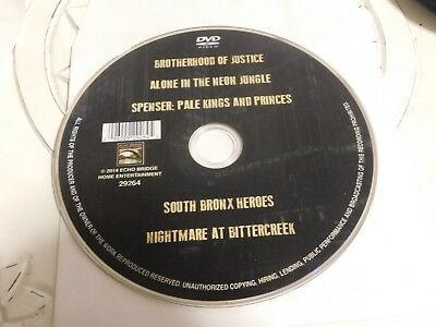 Brotherhood Of Justice/Alone In The Neon Jungle?Spencer Pale Kings DVD Disc Only