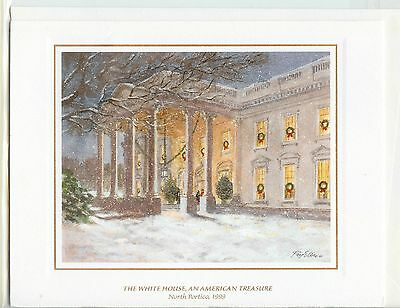 *BRAND NEW* 1999 White House OFFICIAL Christmas Card President BILL CLINTON