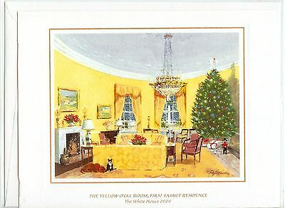 *BRAND NEW* 2000 White House OFFICIAL Christmas Card President BILL CLINTON