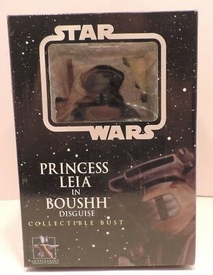Gentle Giant Star Wars Princes Leia In Boushh Disguise Bust NIB 2979/5000