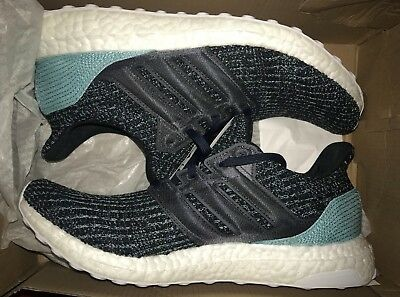 6917c42f8be65 ADIDAS ULTRA BOOST 4.0 Men 8.5 US Parley Ocean Carbon Blue Shoes New Box  CG3673