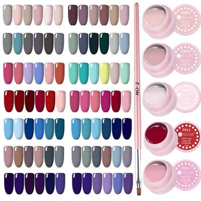 7Pcs/Set UR SUGAR Smalto Gel UV per Unghie Spazzolino Nail UV Gel Polish Lot