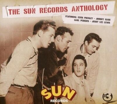 The Sun Records Anthology - Johnny Cash, Elvis Presley, Carl Perkins - 3 Cd New+