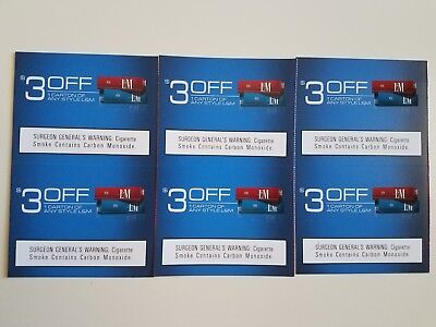 Cigarettes & Tobacco Coupons: $9 L&M, $8 Pall Mall