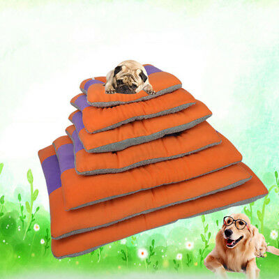 Large Pet Dog Cat Puppy Bed Cushion House Soft Warm Kennel Mat Blanket Washable