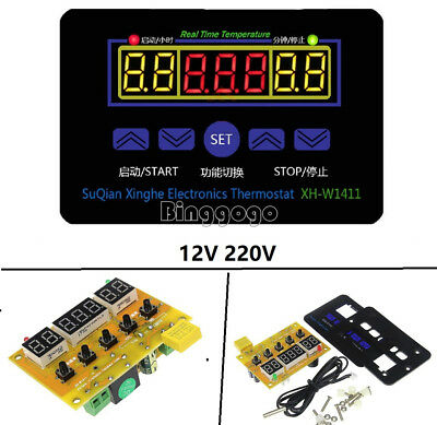 NEU 12/220V Digital Thermostat Temperature Controller Meter Regulator Healt
