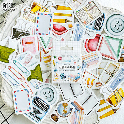 46pcs/lot Cute Bullet Journal Stickers DIY Scrap booking Diary For Photo Album