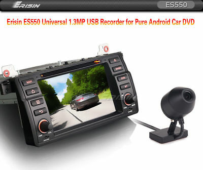In-Car Wasserdicht 125 ° USB Dash Kamera DVR Recorder 720P Für Android GPS Autor
