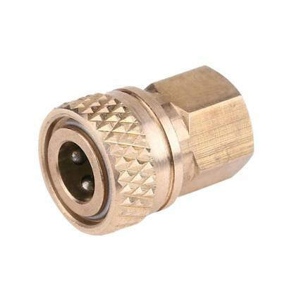Female Pressure Washer Brass Mini 8mm Quick Release Socket Brass Coupling Plug