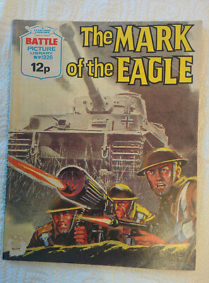 """Battle Picture Library #1226  """"THE MARK OF THE EAGLE"""""""