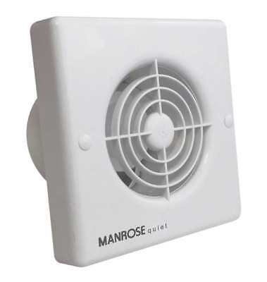 Manrose QF100X5 Zone 1 Quiet Extractor Fans 100mm 4""