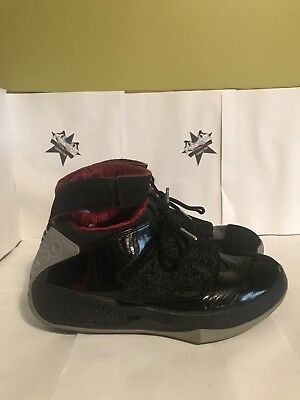 finest selection d4f97 46045 2005 Nike Air Jordan XX 20 Retro BLACK STEALTH GREY RED WHITE SZ 10.5 310455 -