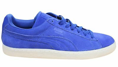 Puma Suede Classic Coloured Blue Leather Lace Up Mens Trainers 360850 06 P 4a9853b8f