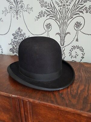 Antique Bowler Hat. J Pickering. Penrith.Superb condition