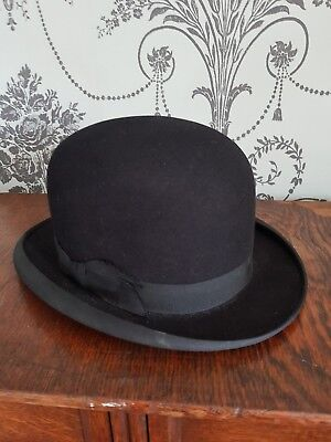 Antique Bowler Hat. Hepworths Leeds and London.Superb condition