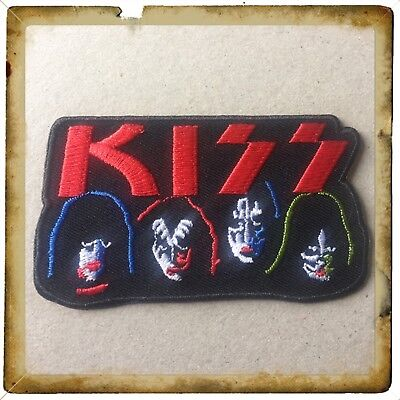 🇨🇦 KISS Patch Embroidered Sew On/stick On Clothing/new 🇨🇦 #2