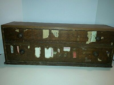 EARLY 1900's MC COURT Pharmacy APOTHECARY Label CABINET