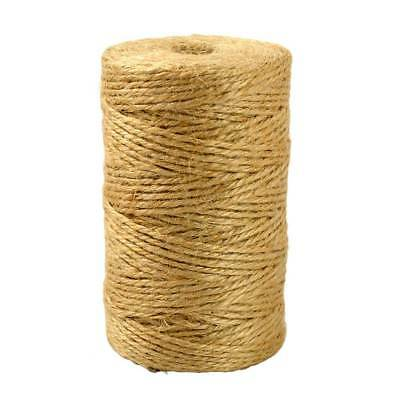 100M Brown Jute Hemp Rope Twine String Cord Shank Craft String DIY Making Decor