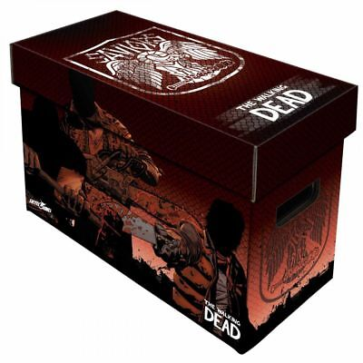 Comic Book Cardboard Storage Box The Walking Dead, Saviours Artwork