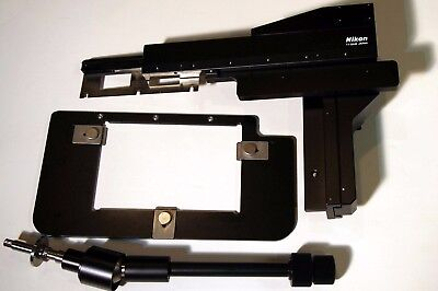 Nikon TI-SAM Attachable Mechanical Stage with Plate Holder for Ti Microscope