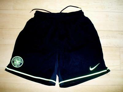 Celtic FC 2009-11 away football soccer shorts YOUTH Medium ages 10-12 yrs approx