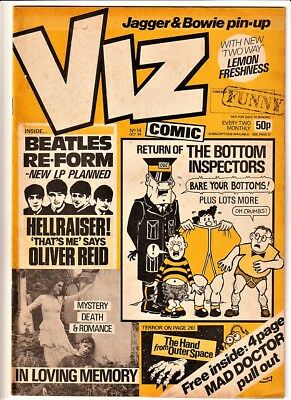 Viz # 14 comic October 1985 magazine issue (Adults only)