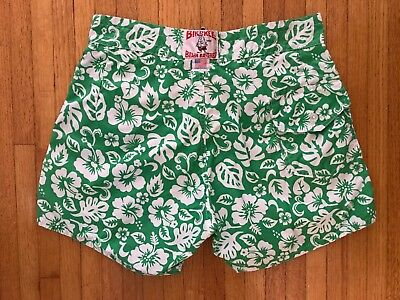 22be5def59 Birdwell Beach Britches 310 Surf Trunks Lifeguard Board Shorts 36 W Floral  Print