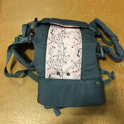 341f2b97c51 BECO GEMINI BABY 4 in 1 Carrier 0m+ 7 to 35lbs XS-XXL in Ellie Grey Pink  Gray -  54.67