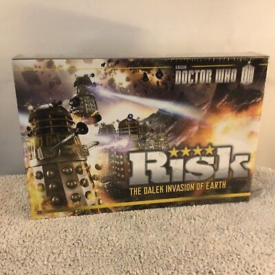 Doctor Who Risk Board Game New Sealed The Dalek Invasion of Earth BBC