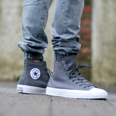 674dd004b3ade2 CONVERSE CHUCK TAYLOR II ALL STAR HI CANVAS SHOES size 9  75 150147C ...