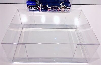 2 Box Protectors For FUNKO POP! Smaller 3 packs.  Ewoks, Snap, Rush Etc.  READ!!