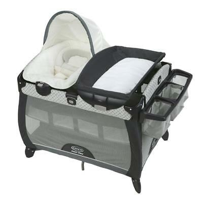 Graco Pack N Play Quick Connect Portable Napper Deluxe With Bassinet McKinley