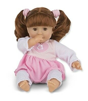 Melissa Doug standard Mine to Love Brianna 12-Inch Soft Body Baby Doll with H