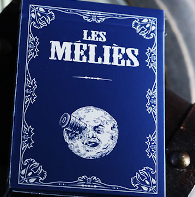 Les Melies Conquest Blue Playing Cards by Pure Imagination Projects - LIMITED