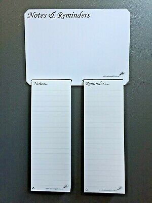 A5 Whiteboard Notepad Magnetic Shopping List Fridge Family Office Reminder Memo