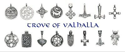 Trove of Valhalla Viking Norse Pendants Necklace U PICK