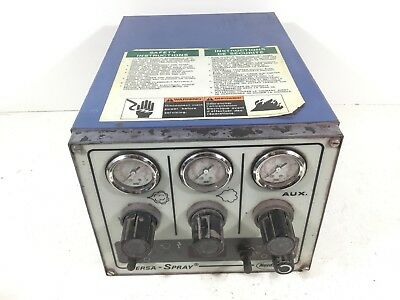 Nordson Versa-Spray Powder Coating System Unit 159637A *FOR PARTS OR REPAIR*