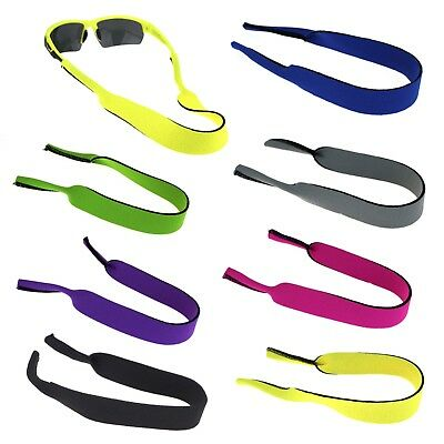 Retro Gym Teacher Sport Neck Loop Sunglasses Wide Elastic Band
