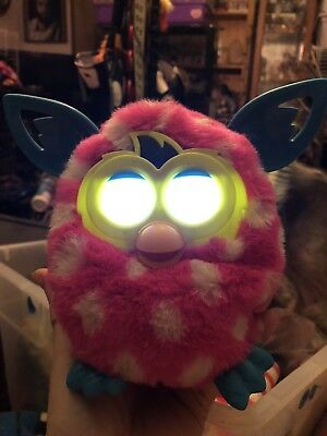 Discontinued by manufacturer Furby Boom Figure Polka Dots