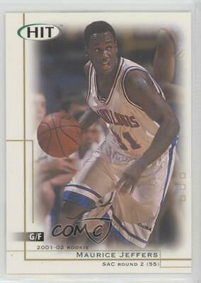 2001-02 SAGE Hit #7 Maurice Jeffers St. Louis Bombers Rookie Basketball Card