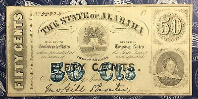 1863 Civil War Era 50 Cent Fractional Currency. Collector Note.
